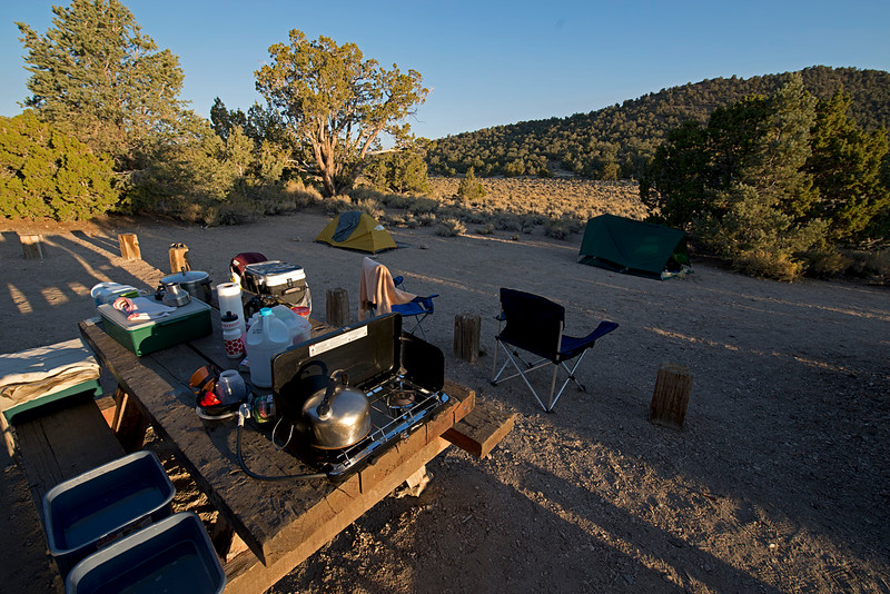 Grandview Campground Campsite