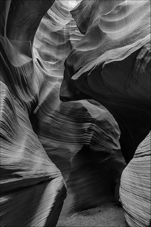 Secret Canyon. HM in Digital B&W, N4C, May 2018.
