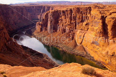 Colorado River below Glenn Canyon