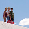 Kathy, Paula & Jim at White Sands National Monument
