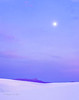 Full moon, dawn sky
