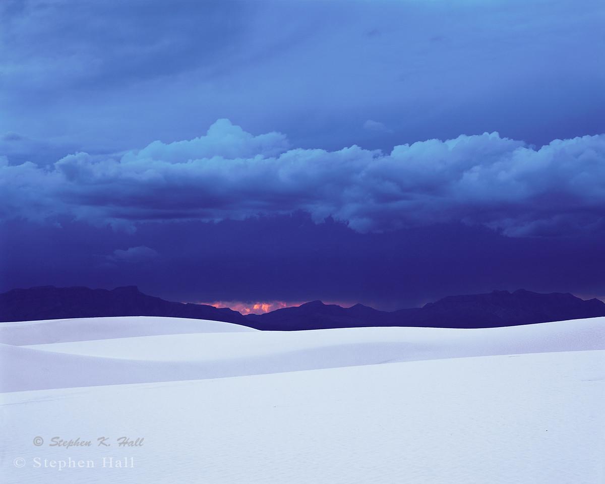 Western sky, sunset