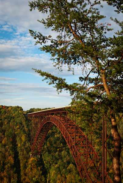 The New River Gorge Bridge in West Virginia