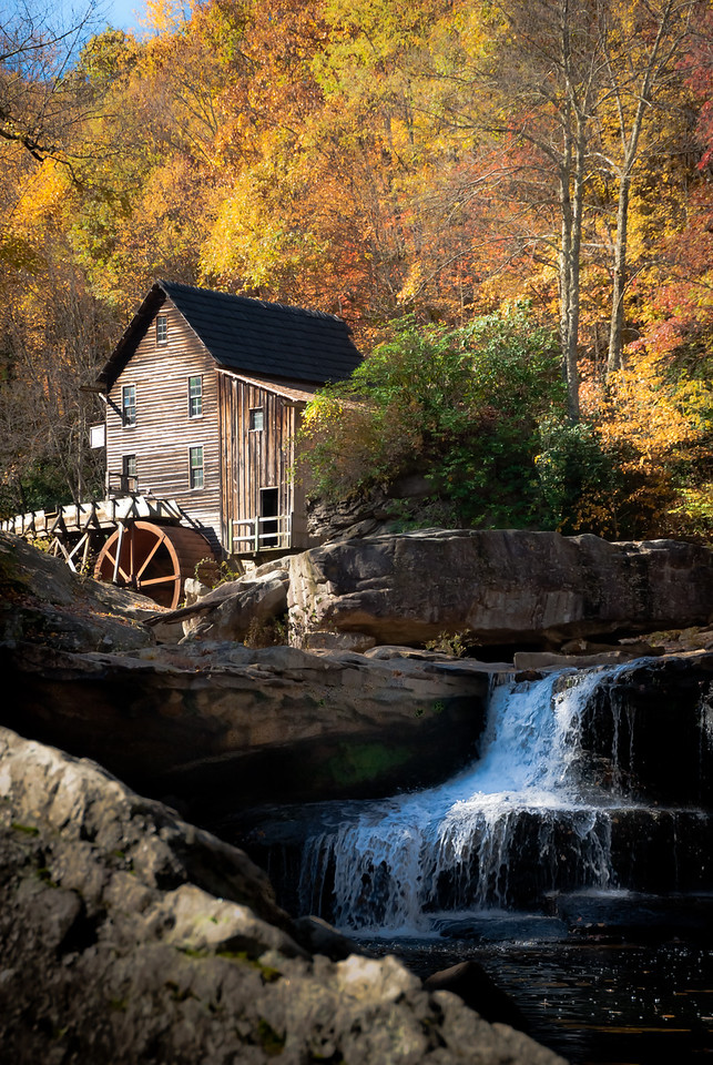 Glade Creek Grist Mill at Babcock State Park, WV