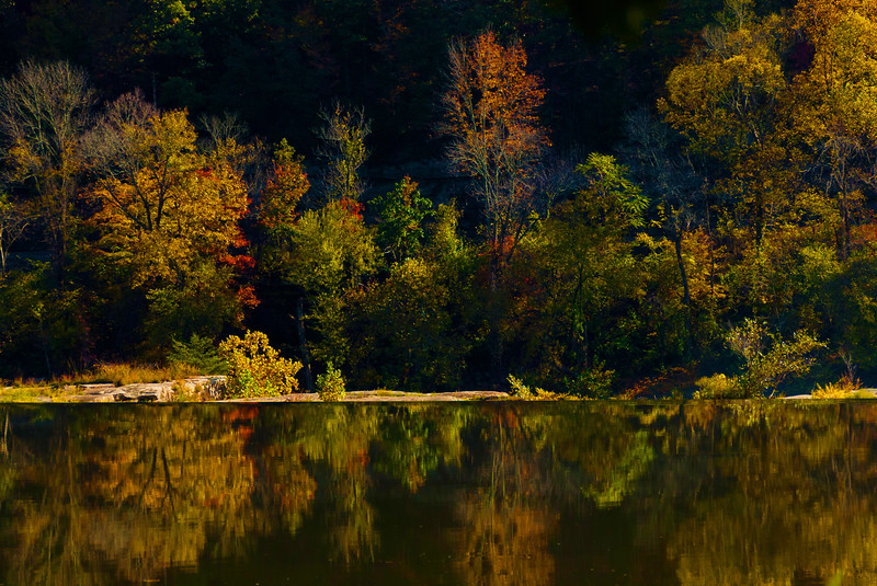 Kanawha Falls in West Virginia