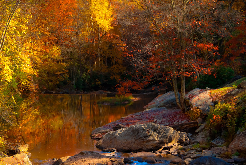 Fall Reflections - Babcock State Park, West Virginia