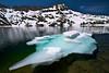 Iceberg, Round Top Peak, Winnemucca Lake, Mokelumne Wilderness