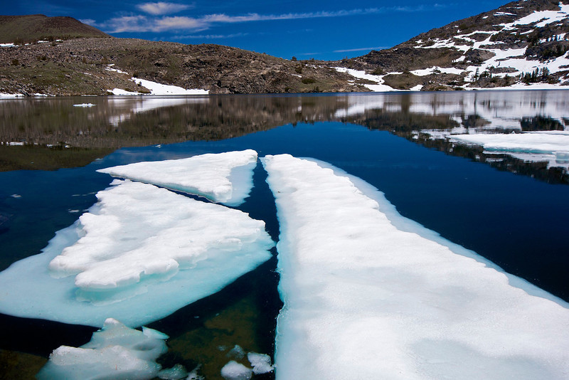 Iceberg, Winnemucca Lake, Mokelumne Wilderness