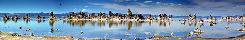 South Tufa Panorama, Mono Lake, Lee Vining, CA.