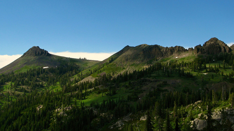 Tinker Knob, Granite Chief Wilderness, Pacific Crest Trail.