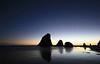 Glasshouse Rocks sunrise