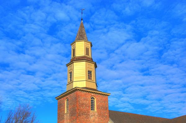 Bruton Parish Church, Williamsburg Virginia.