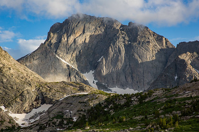 Temple Peak from Deep Lake, Wind River Range, Wyoming