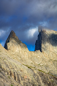 East Temple Peak and Steeple Peak, Wind River Range, Wyoming