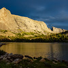 Haystack Mountain, East Temple Peak, and Clear Lake, Wind River Range, Wyoming