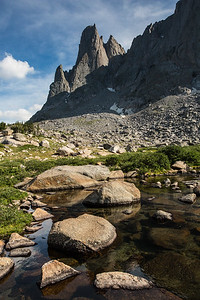 War Bonnet Peak, Cirque of the Towers, Wind River Range, Wyoming