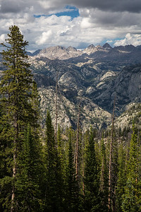 Fremont Peak, Jackson Peak, Harrower Peak, Knife Point Mountain, and Fremont Canyon, Bridger Wilderness, Wyoming