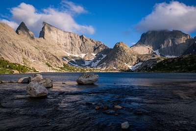 Deep Lake and Temple Peaks, Wind River Range, Wyoming