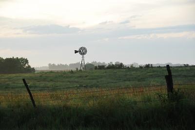 Kansas Windmill - Photo Taken: July 28, 2009