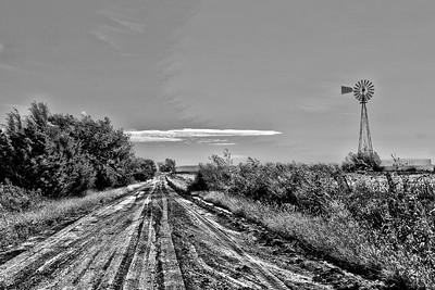 Windmill near Marion, Kansas - Photo Taken: September 22, 2016