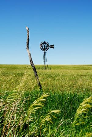 Kansas Windmill - Photo Taken: June 6, 2008