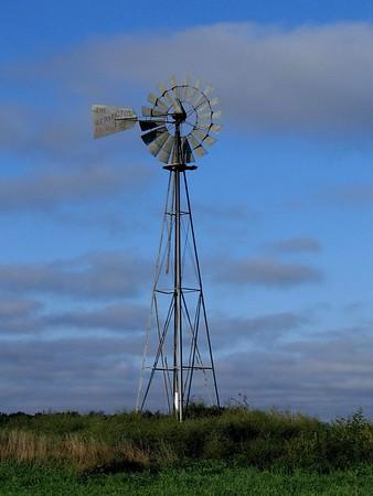 Kansas Windmill - Photo Taken: March 30, 2011