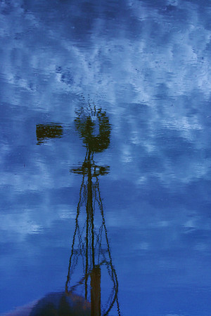 """""""Reflection of a windmill"""""""