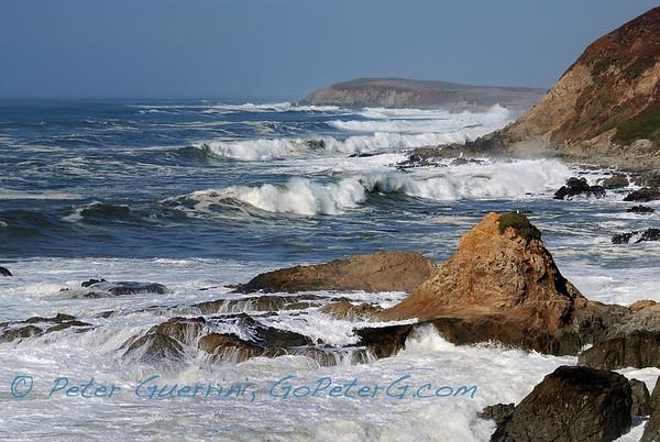 Surf at Bodega Head