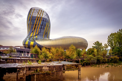 La Cite du Vin - Bordeaux, France - November 2018 - Editorial