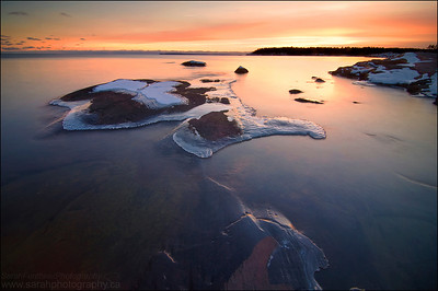 Lake Huron, Killarney Ontario.