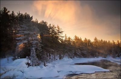 River aux Sables. Chutes Provincial Park, Ontario.