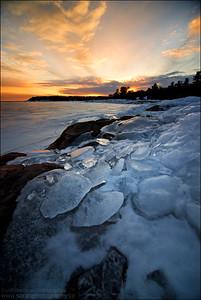 Georgian Bay, Lake Huron. Killarney ON