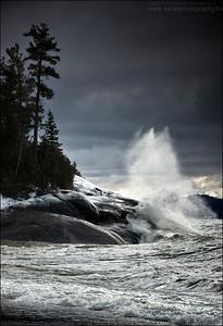 Agawa Bay. Lake Superior, ON.