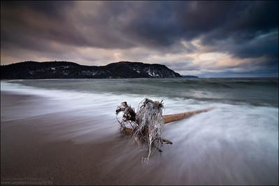 Lake Superior. Old Woman Bay, Ontario.