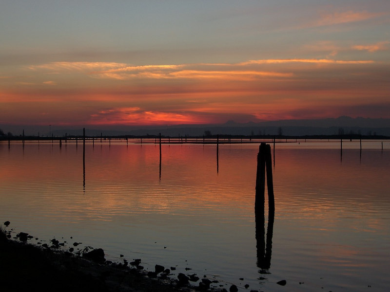 Sunset- same location, next day.