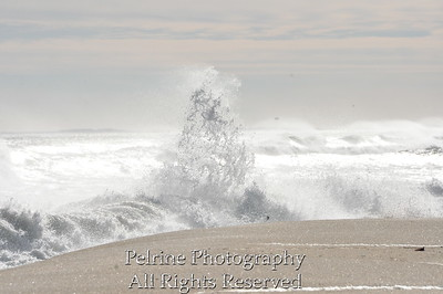 December at Hampton Beach...68 degrees, snowed 2 days later. This wave reminds me of an ice sculpture!