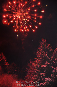 Fireworks after a snow storm for Joe, home on short USMC leave. thank you Joe for serving our country