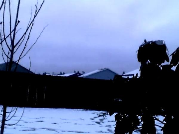 1 18 12 Melting Snow