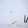 45  G Snowy Snowboarder