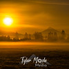 23  G Mt  Hood Sunrise Fog