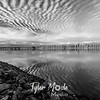 24  G Cloud Streets and Columbia River BW