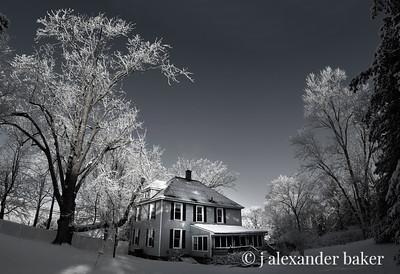 My Spook House B&W
