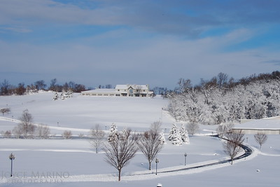 Beautiful countryside in Northern Baltimore County, MD, the morning after a snow storm - DSC_0173.