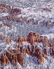 Hoodoos and snow