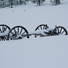 Old Wagon in Snow SS84895