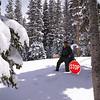Snowshoeing to Brainard Lake in May!  Colorado Indian Peaks Wilderness.