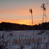 Sunrise over Hayes Marsh @ Bear Brook State Park.