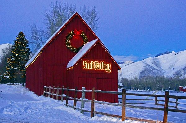Winter Scenes in Idaho