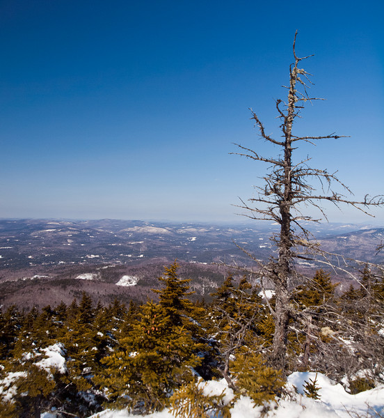 Drop Dead View<br /> almost to the top of Mt. Kearsarge Winslow State Park,  NH