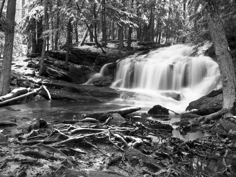 Tucker Falls, Milford NH <br /> Dec 2009